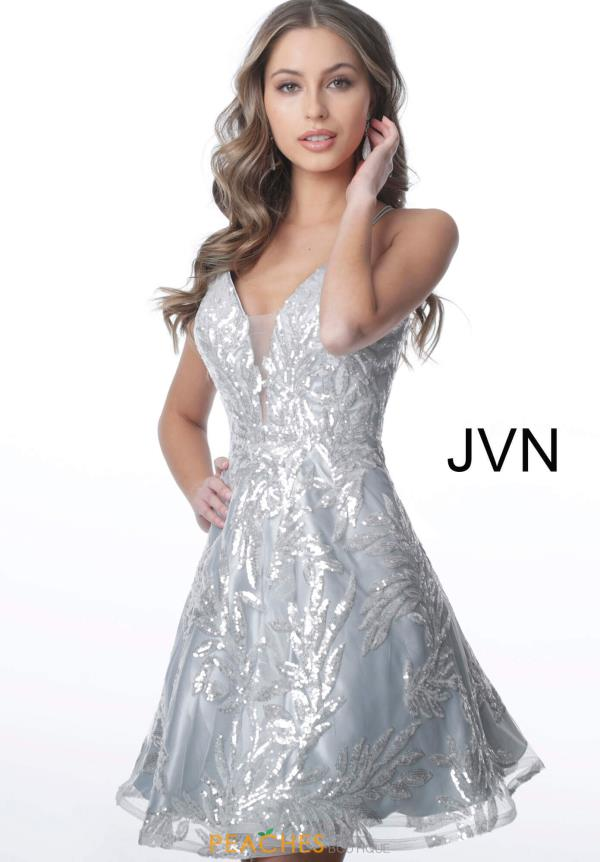JVN by Jovani A Line Sequins Dress JVN2451