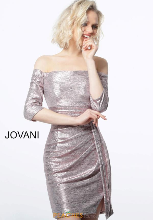 Jovani Short Long Sleeve Dress 1569