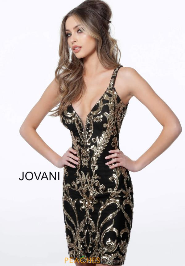 Jovani Short V-Neck Sexy Dress 2667