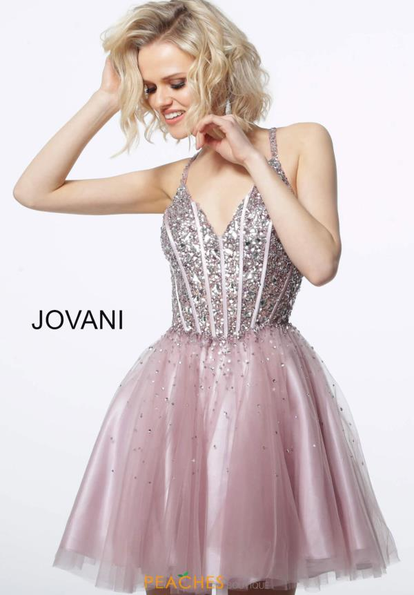 Jovani Short A Line Tulle Dress 3627