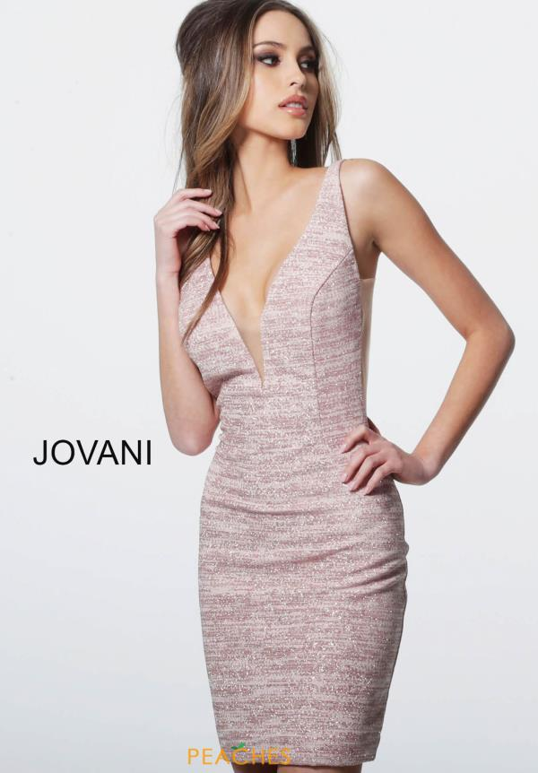 Jovani Cocktail Fitted Dress 45810