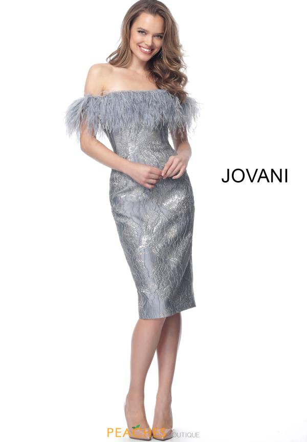 Jovani Short Off the Shoulder Dress 66239