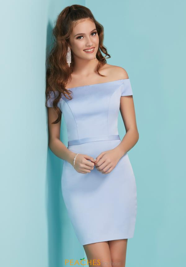 Tiffany Off the Shoulder Fitted Dress 27254
