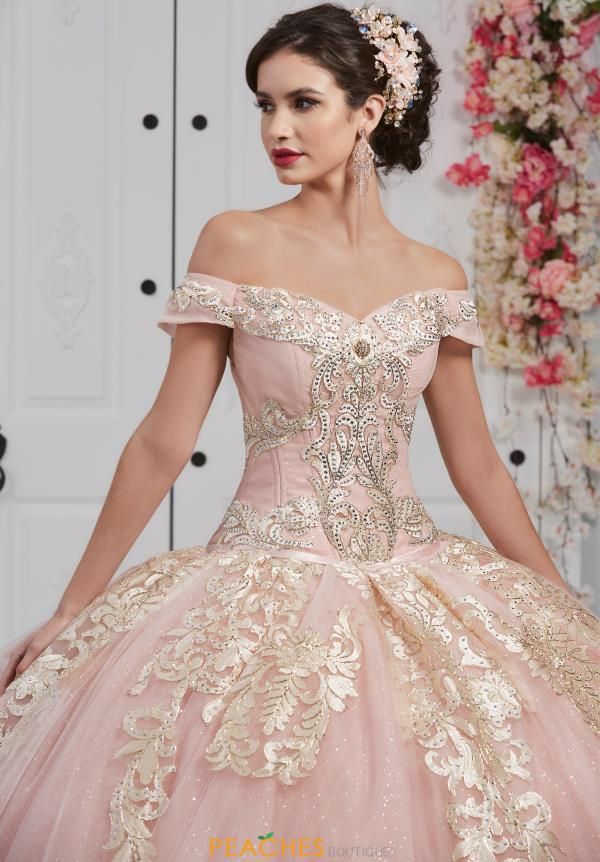 Tiffany Quinceanera Off the Shoulder Ball Gown 24053