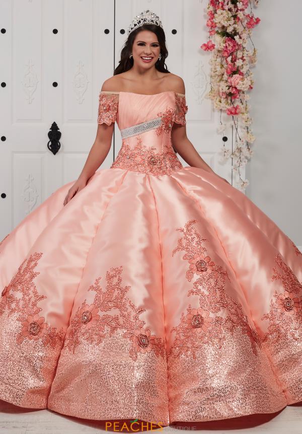 Tiffany Quinceanera Off the Shoulders Ball Gown 24056