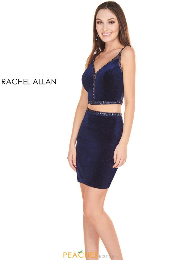 Rachel Allan Short Two Piece Dress 4116
