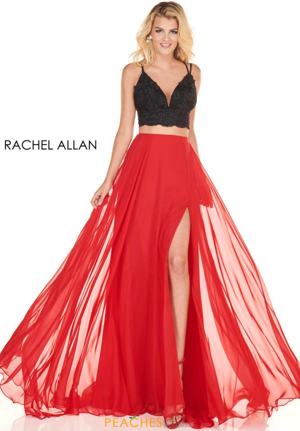 Rachel Allan Two Piece A Line Dress 4157