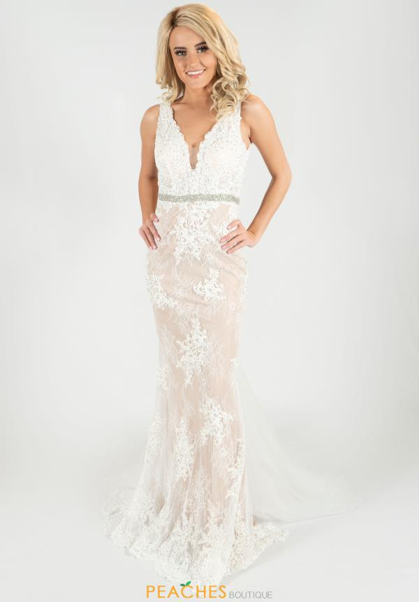 Jasz Couture Lace Mermaid Dress 6452