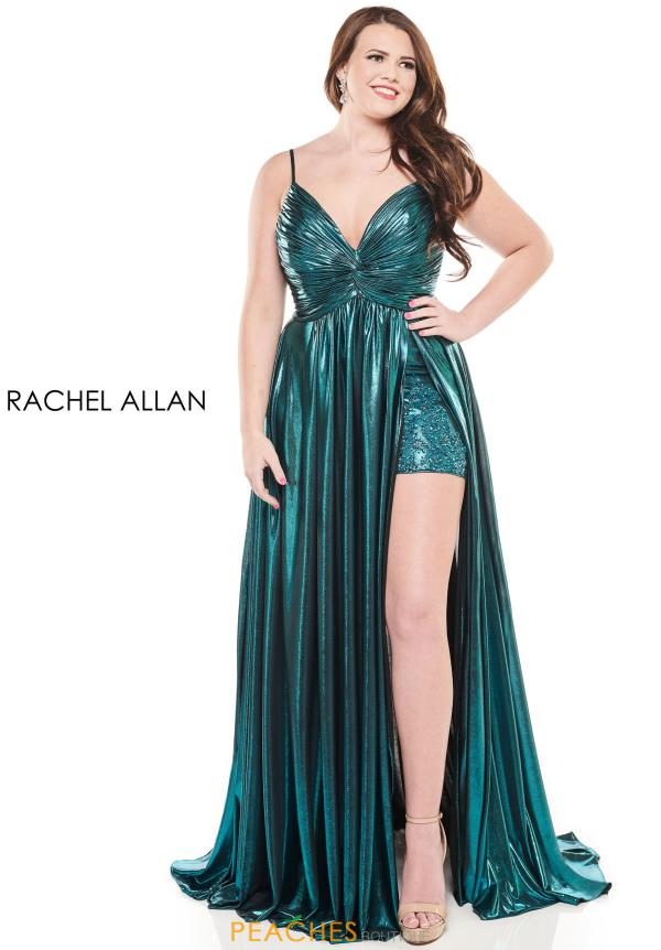 Rachel Allan Sweetheart Neckline A Line Dress 4831