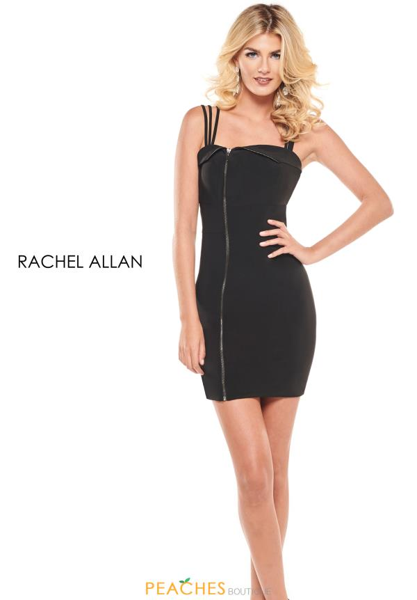 Rachel Allan Short Fitted Dress L1253