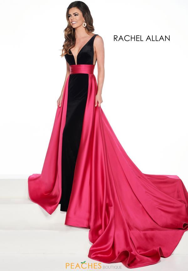 4cb1c6b5436a Prima Donna V-Neck Velvet Pageant Dress 5076