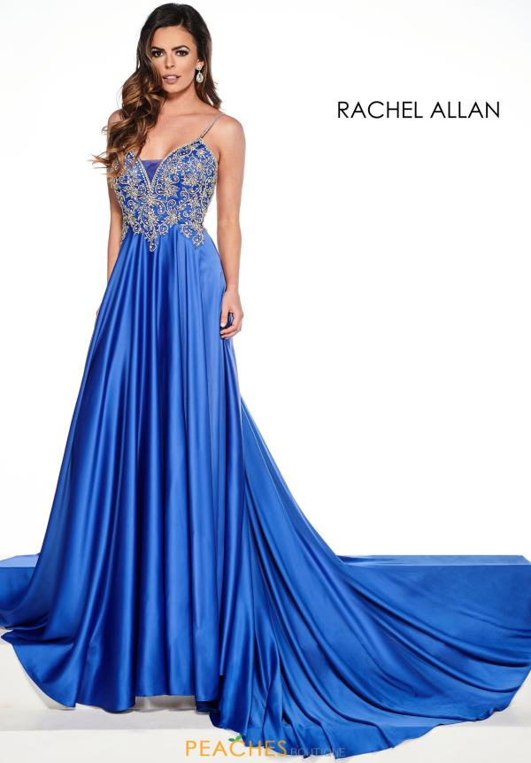 Prima Donna V-Neck Beaded Pageant Dress 5078