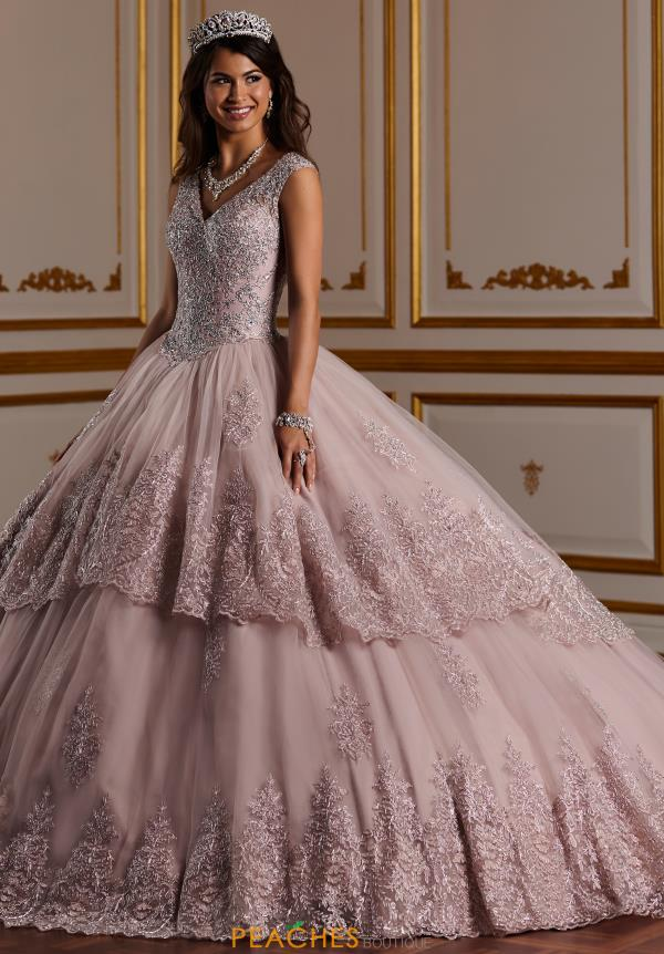 Tiffany Quinceanera Long Applique Gown 26927