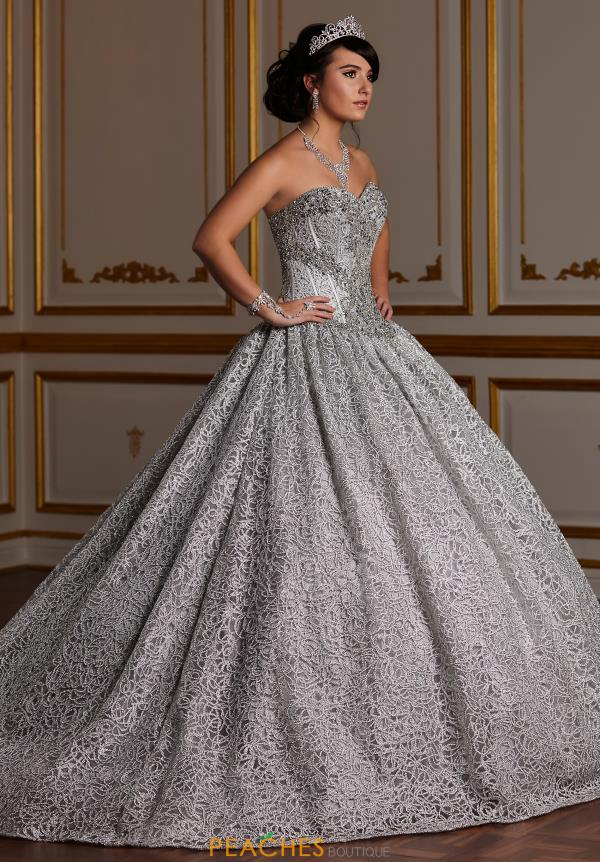 Tiffany Quinceanera Strapless Beaded Gown 26928