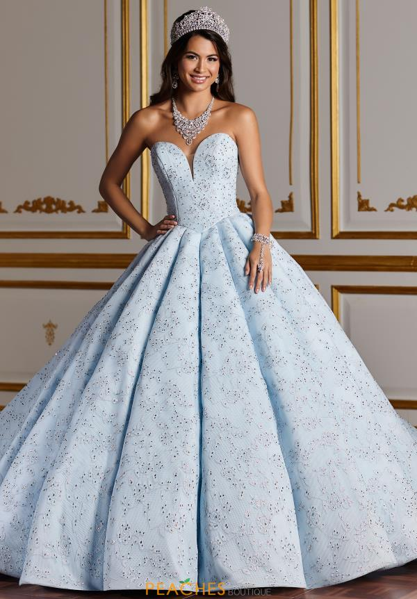 Tiffany Quinceanera Strapless Ball Gown 26932