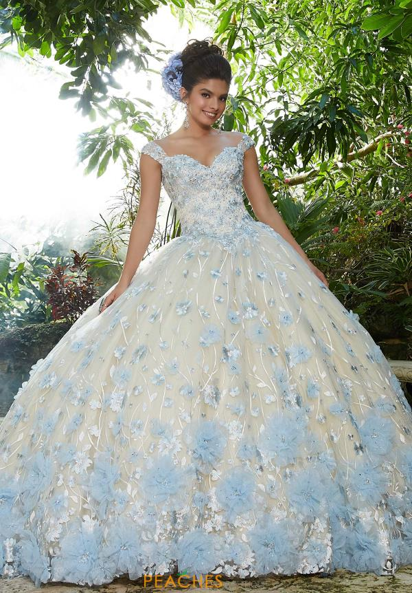 Vizcaya Quinceanera Beaded Ball Gown 34011