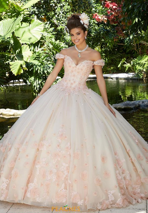 Vizcaya Quinceanera Sweetheart Neckline Ball Gown 34015
