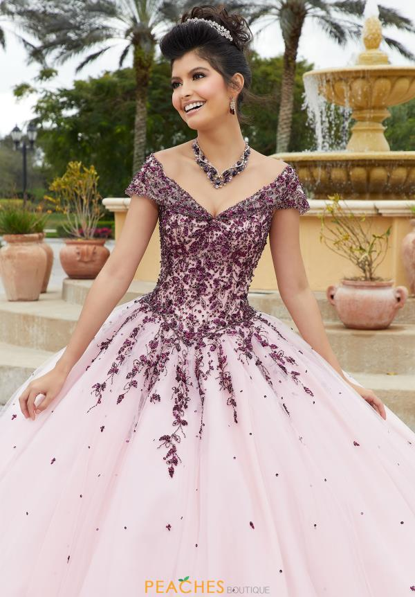 Vizcaya Quinceanera Tulle Skirt Ball Gown 60091