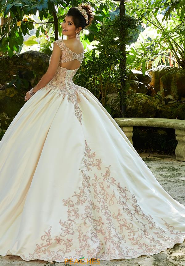 Vizcaya Quinceanera Satin Ball Gown 89245