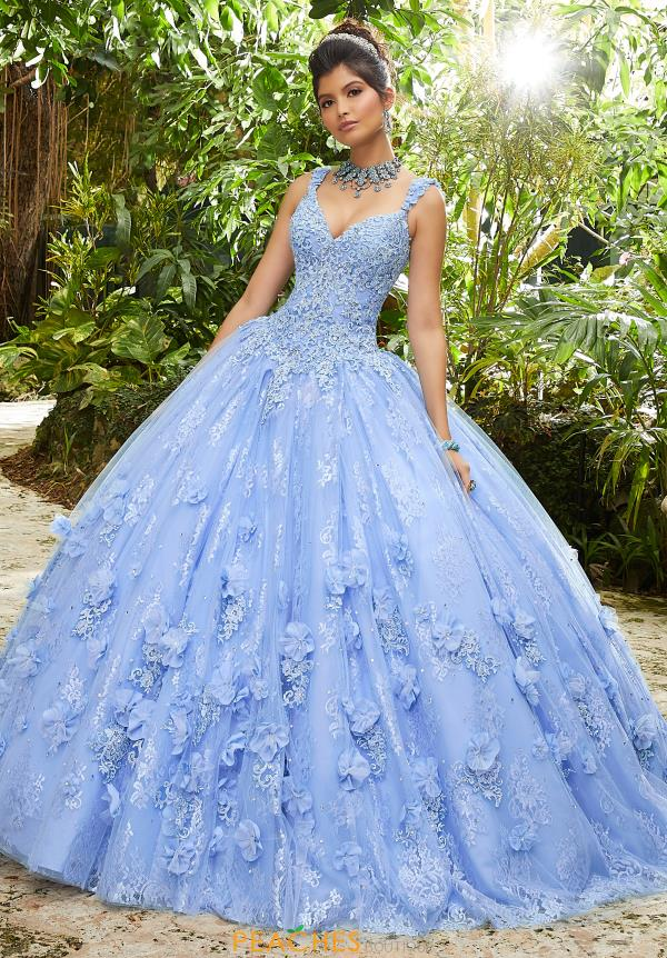 Vizcaya Quinceanera Lace Ball Gown 89250