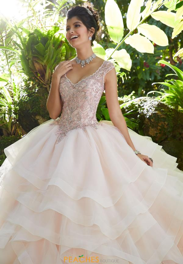 Vizcaya Quinceanera Organza Skirt Ball Gown 89253