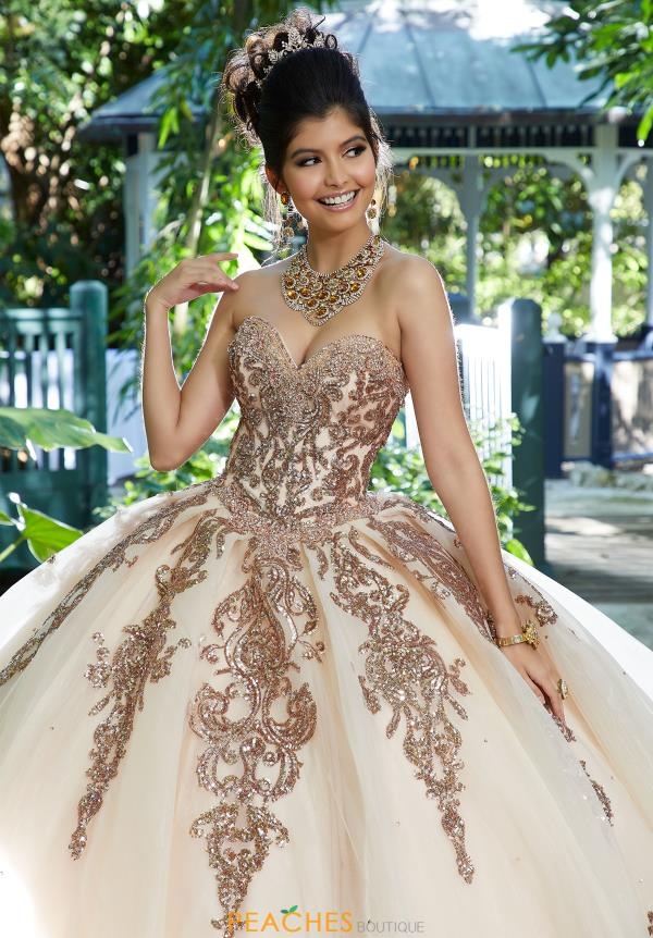 Vizcaya Quinceanera Strapless Ball Gown 89255