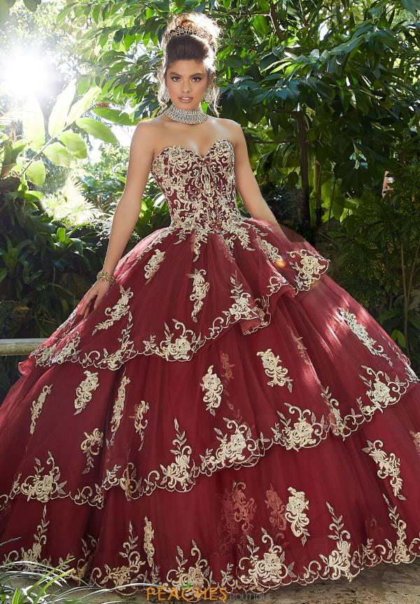 Vizcaya Quinceanera Tulle Skirt Ball Gown 89258