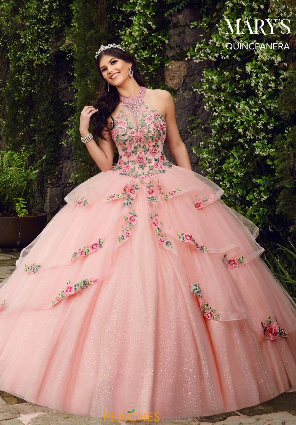 Mary's Floral Ball Gown MQ1046