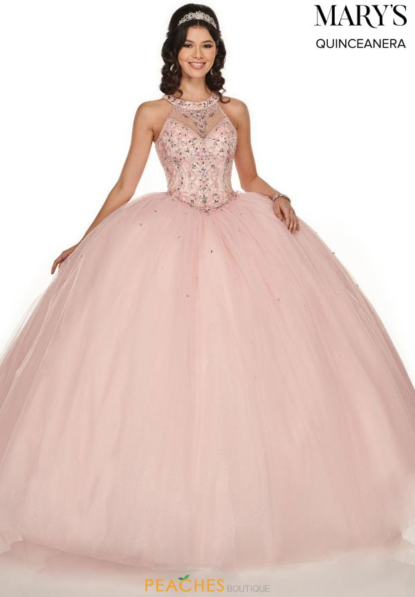 Mary's Halter Top Ball Gown MQ1048