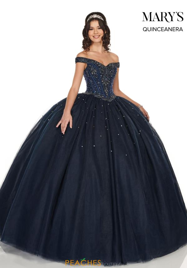 Mary's Lace Back Ball Gown MQ1050