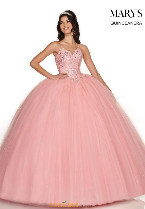 Mary's Tulle Skirt Beaded Dress MQ1052