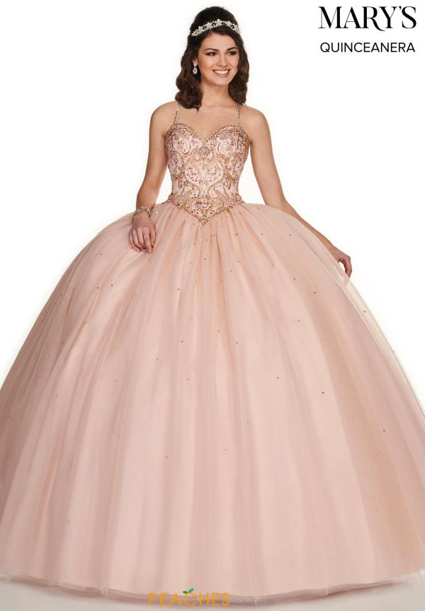 Mary's Beaded Ball Gown MQ1054