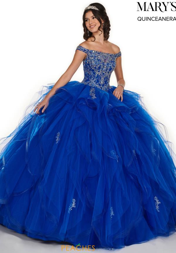 Mary's Off the Shoulder Ball Gown MQ1056