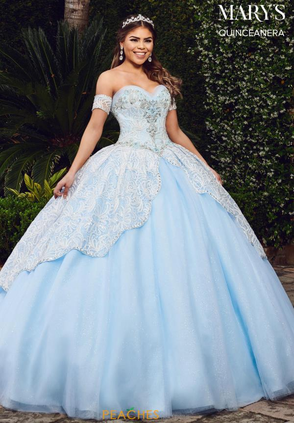 Mary's Off the Shoulder Ball Gown MQ2075