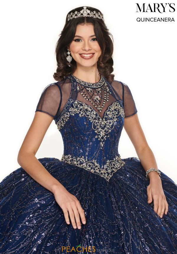 Mary's High Neckline Ball Gown MQ2076