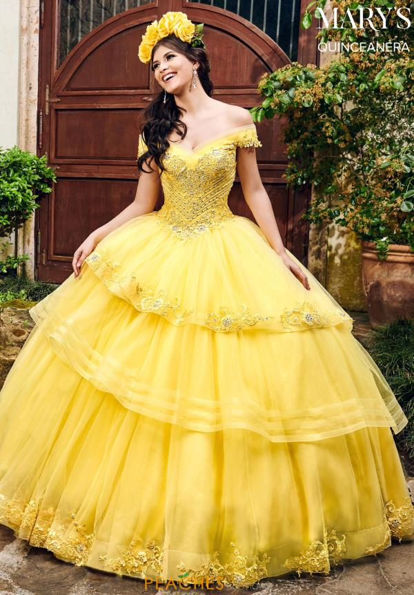 Mary's Off the Shoulder Ball Gown MQ2085