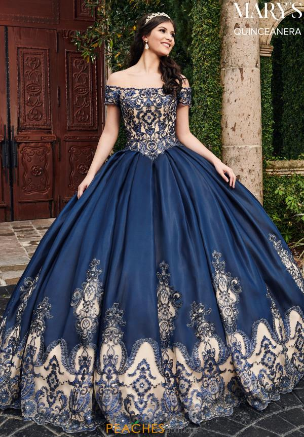 Mary's Beaded Ball Gown MQ2089