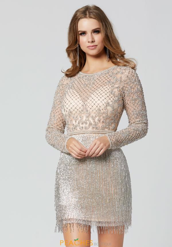 Primavera Long Sleeved Fitted Dress 3325