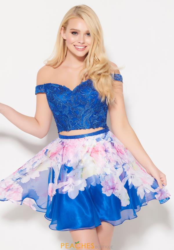 Ellie Wilde Two Piece Sweetheart Dress EW21907S