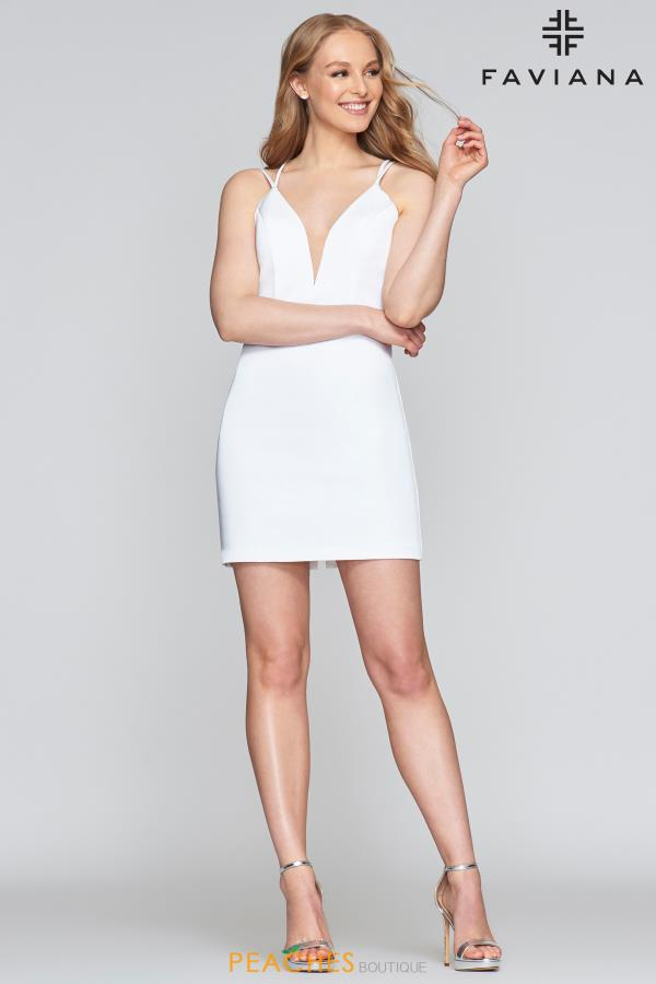 Faviana Short Fitted Dress S10358