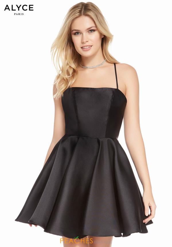 Alyce Paris Short A Line Dress 1455