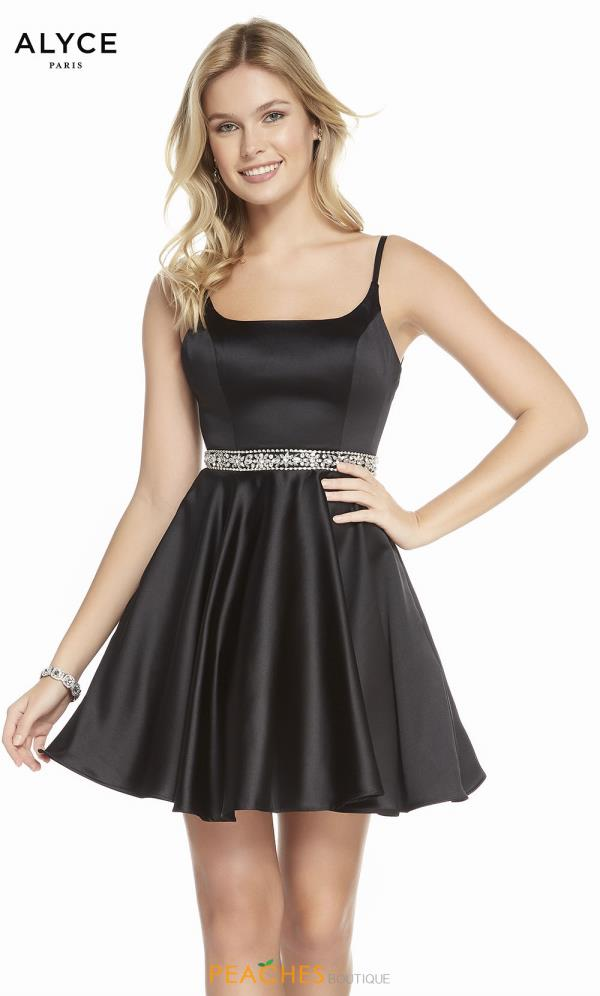Alyce Paris Short A Line Dress 1463