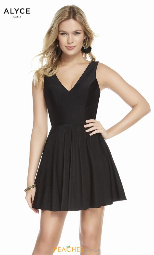 Alyce Paris Short A Line Dress 1478