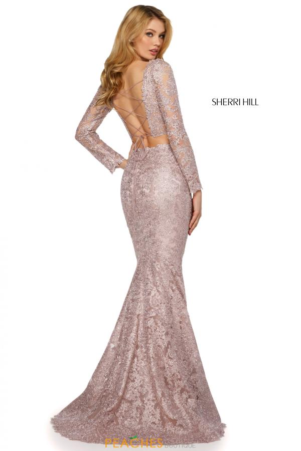 Sherri Hill Two Piece Lace Dress 53247