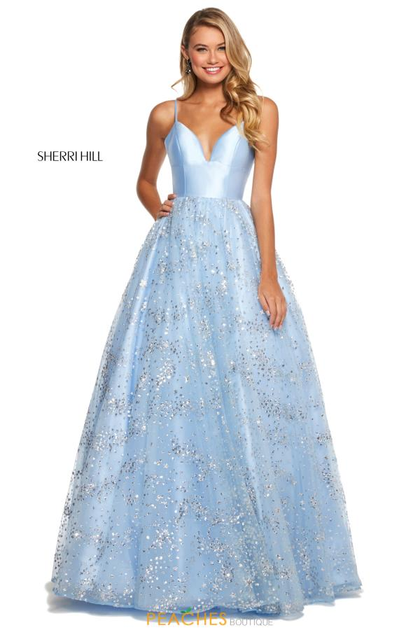 Sherri Hill Long A Line Dress 53177