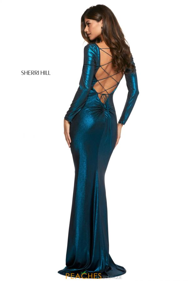 Sherri Hill Sexy Open Back Dress 53240