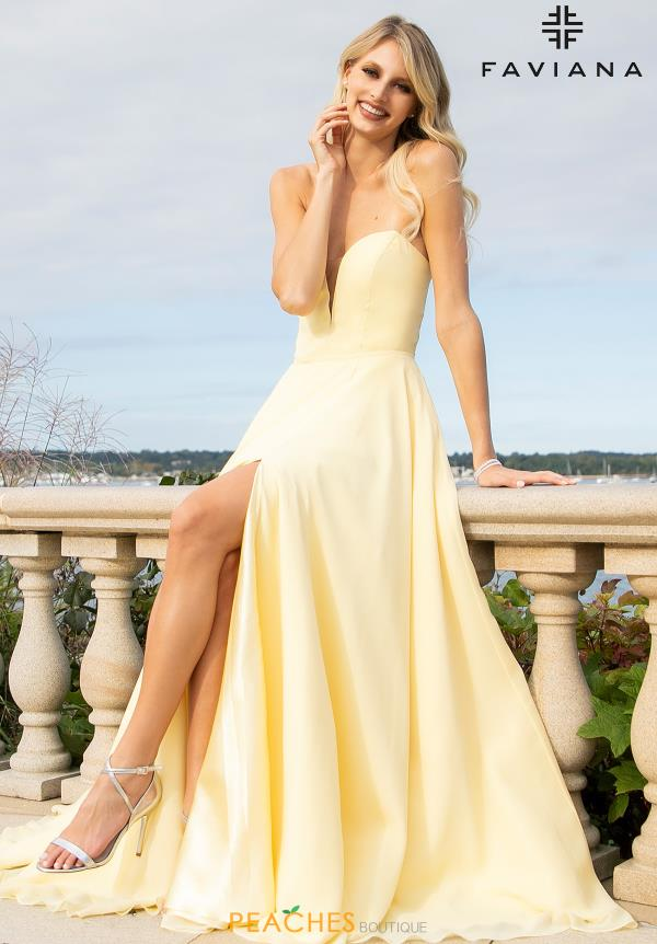 Faviana Chic Strapless Dress S10232