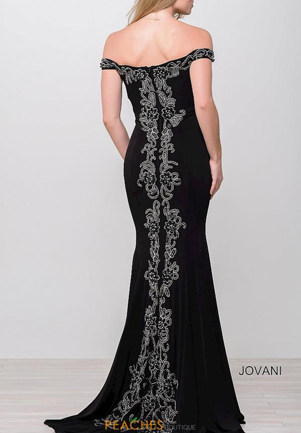 Cap Sleeved Fitted Jovani Dress 32360