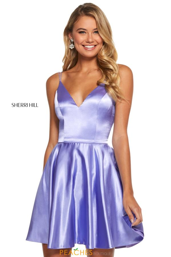Satin Sherri Hill Short 52253
