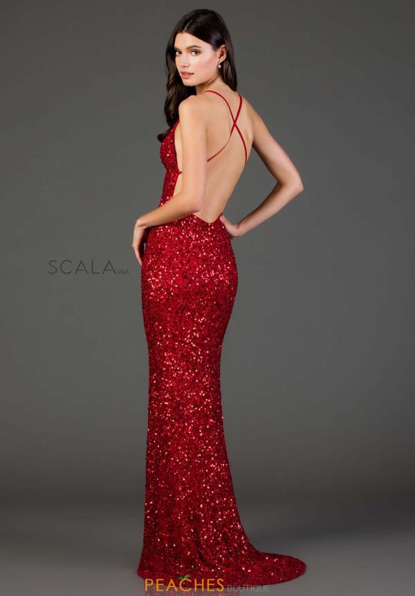 058e9868fda Scala Prom Dress 47551 | PeachesBoutique.com